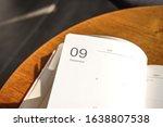 diary month 2020 calander... | Shutterstock . vector #1638807538