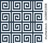 mosaic tiles texture background ... | Shutterstock . vector #1638851008