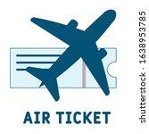 air ticket logo . simple...
