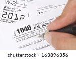 tax filing | Shutterstock . vector #163896356