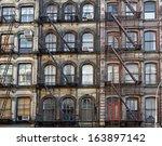 manhattan lofts | Shutterstock . vector #163897142