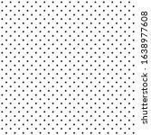 dot black doodle star vector... | Shutterstock .eps vector #1638977608