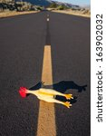 Gag Rubber Chicken Crossing Th...