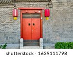 Traditional Hutong Alley In...