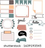 collection decoration item set...   Shutterstock .eps vector #1639193545