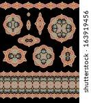 set of decorative elements | Shutterstock .eps vector #163919456