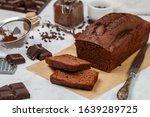 Sliced Homemade Chocolate...