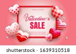 happy valentines day sale... | Shutterstock .eps vector #1639310518