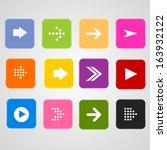 arrow icon | Shutterstock .eps vector #163932122