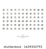 city geolocation icon pack for...