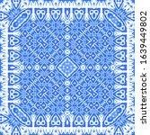 ceramic tiles azulejo portugal. ...   Shutterstock .eps vector #1639449802
