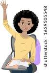 illustration of an african... | Shutterstock .eps vector #1639505548