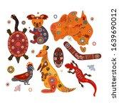 australian national traditional ...   Shutterstock .eps vector #1639690012