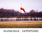 Windsock At Abandoned Airport...