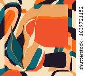 Trendy Scarf Print. Creative...