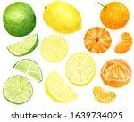Watercolor Fresh Lemon ...