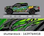 Truck Wrap Design Vector....