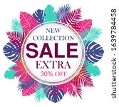 new collection sale banner... | Shutterstock .eps vector #1639784458