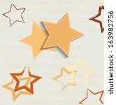 backgrounds with stars | Shutterstock .eps vector #163982756