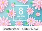 8 march. happy women's day.... | Shutterstock .eps vector #1639847662