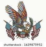 American Eagle  Laurel Branches ...