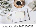 summer wedding stationery scene.... | Shutterstock . vector #1639956052