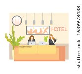 illustration of hotel...