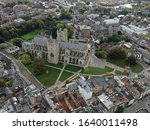 An Aerial View Of Exeter City...