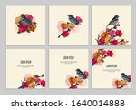 set of covers for business and... | Shutterstock .eps vector #1640014888