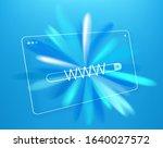 simple internet browser window...