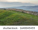 Ruins Of Long Wall Of Medieval...