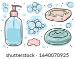 illustration collection of... | Shutterstock .eps vector #1640070925