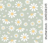 seamless floral pattern of... | Shutterstock .eps vector #1640106145