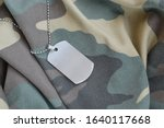 Silvery Military Beads With Dog ...