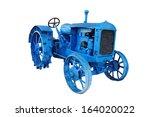 Old Blue Vintage Tractor...
