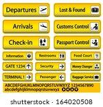 Airport Sign Custom Baggage...