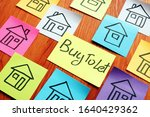 Buy To Let Mortgage Sign And...