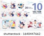 healthy pregnancy  childbirth... | Shutterstock .eps vector #1640447662