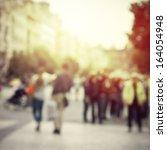 sun vintage blur background | Shutterstock . vector #164054948