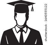 student graduated illustration...   Shutterstock .eps vector #1640555122
