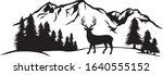 vector illustration of mountain ...   Shutterstock .eps vector #1640555152