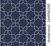decorative seamless ornamental... | Shutterstock .eps vector #1640581285
