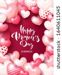 greeting card for march 8 with...   Shutterstock .eps vector #1640611045