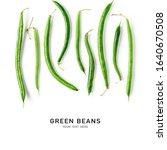 Fresh Green Beans As Creative...