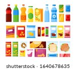vending machine products.... | Shutterstock .eps vector #1640678635