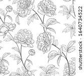 seamless wallpaper of of... | Shutterstock .eps vector #1640734522