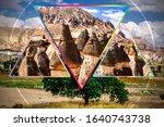 Cappadocia Landmark Collage....