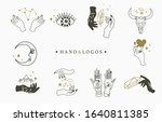 beauty occult logo collection...   Shutterstock .eps vector #1640811385