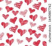happy valentine's day beautiful ...   Shutterstock .eps vector #1640887762