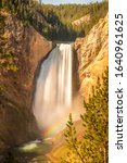 Yellowstone Falls With A...
